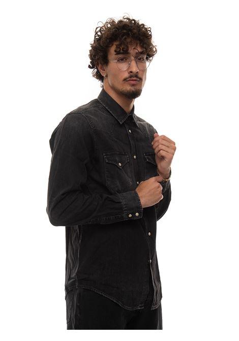 Camicia jeans Roy Rogers | 6 | P21RRU400CA321720BLACK