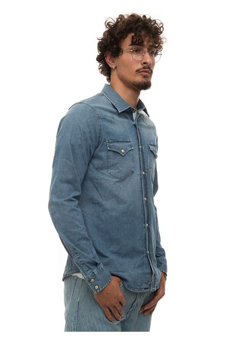 Camicia jeans Roy Rogers | 6 | P21RRU401D3891638SILING