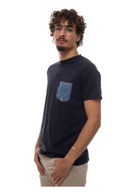T-shirt mezza manica Roy Rogers | 8 | P21RRU511C7480000BLU