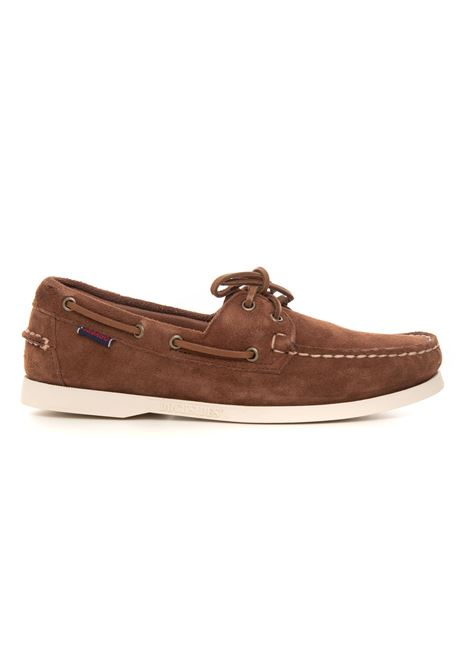 Portland flesh out Leather loafer with laces Sebago | 12 | 7111PTW901
