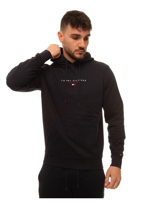 Sweatshirt with hood Tommy Hilfiger | 20000055 | MW0MW17382DW5