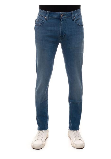 Jeans 5 tasche LEONARDOSLIM Tramarossa | 24 | LEONARDOSLIM-D61921E26