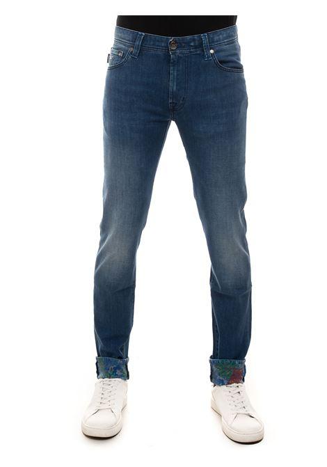 Jeans 5 tasche LEONARDOZIP Tramarossa | 24 | LEONARDOZIP-D375S21E55