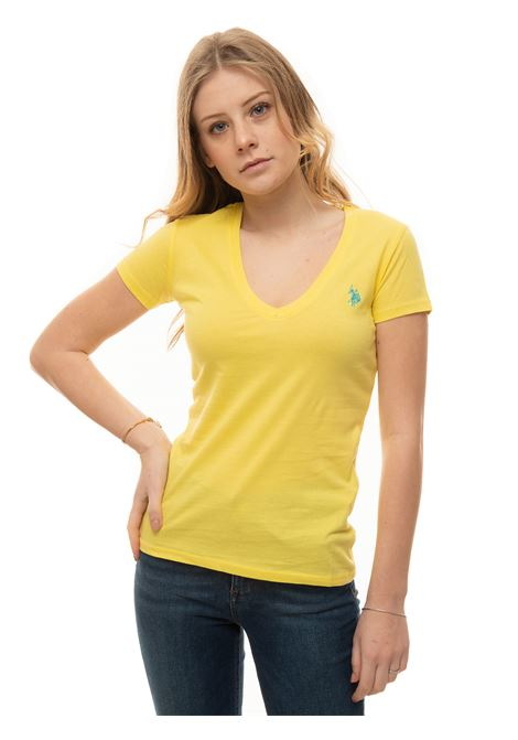 T-shirt collo a V US Polo Assn | 8 | 59902-51520111