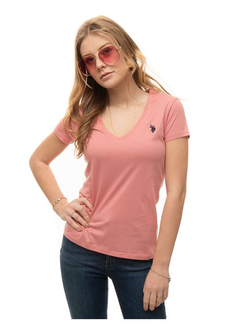 T-shirt collo a V US Polo Assn | 8 | 59902-51520225