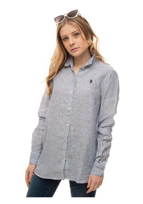 Long-sleeved linen shirt US Polo Assn | 6 | 6007253061770