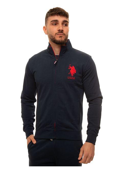 Sweatshirt with zip US Polo Assn | 20000055 | 60097-52088179