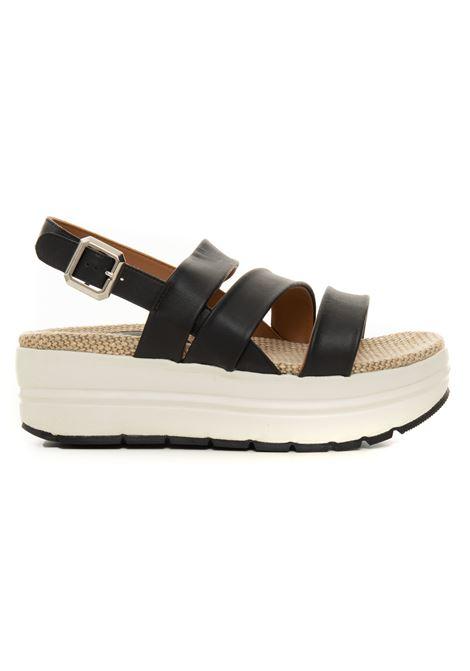 Sandalo con zeppa Voile Blanche | 20000009 | 0010502892-010A01