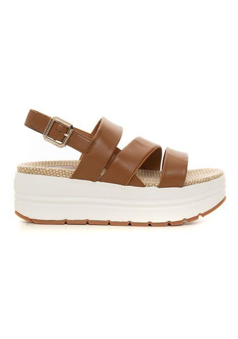 Sandalo con zeppa Voile Blanche | 20000009 | 0010502892-010D07