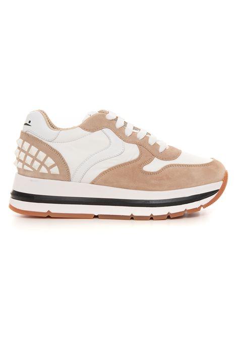 Sneakers bassa in canvas e suede Voile Blanche | 5032317 | 0012015809-031E05