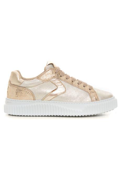 Sneakers bassa in canvas e suede Voile Blanche | 5032317 | 0012015846-050Q06