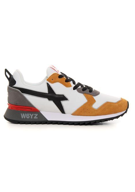 Sneakers bassa in canvas e suede W6YZ | 5032317 | 0012013560-111N56
