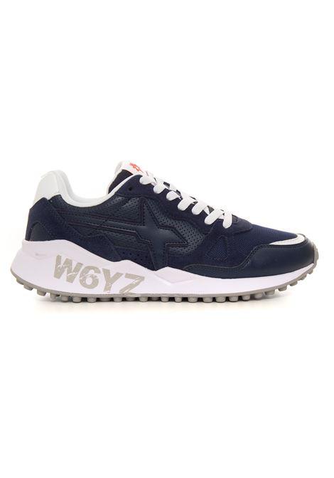 Sneakers bassa in canvas e suede W6YZ | 5032317 | 0012015183-060C01