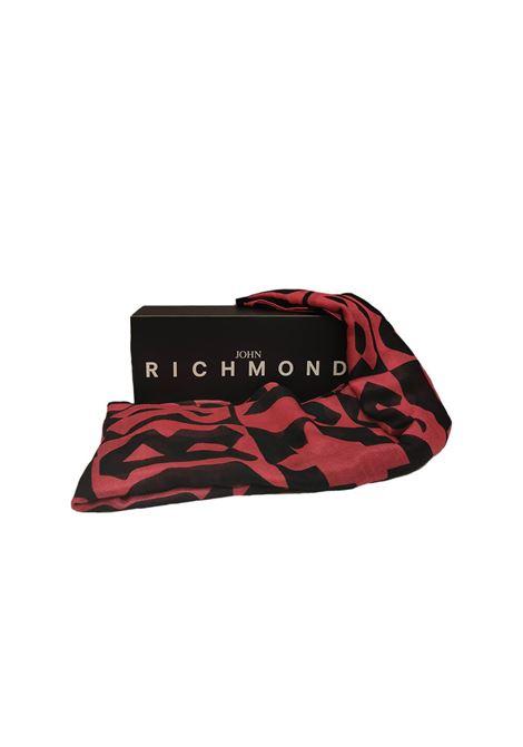 SCIARPA JOHN RICHMOND John Richmond | 77 | X-4950FUCSIA/NERO
