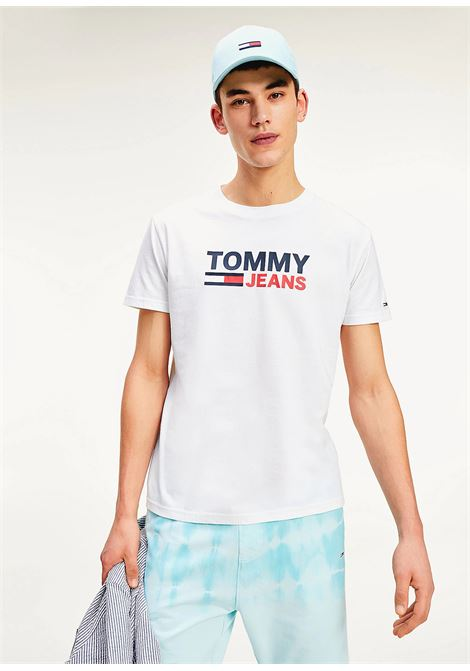 T-SHIRT TOMMY JEANS tommy jeans | 8 | DM0DM07843YBR