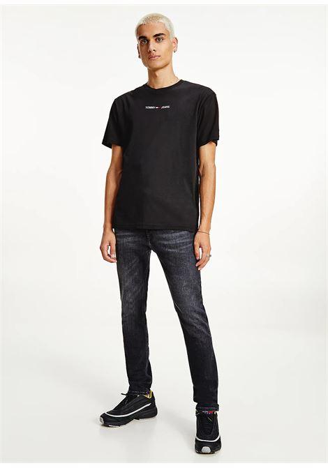 T-SHIRT TOMMY JEANS tommy jeans | 8 | DM0DM09701BDS
