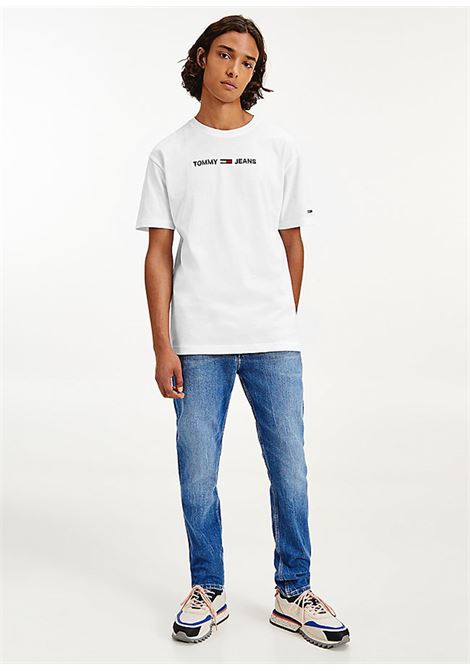T-SHIRT TOMMY JEANS tommy jeans | 8 | DM0DM09701YBR