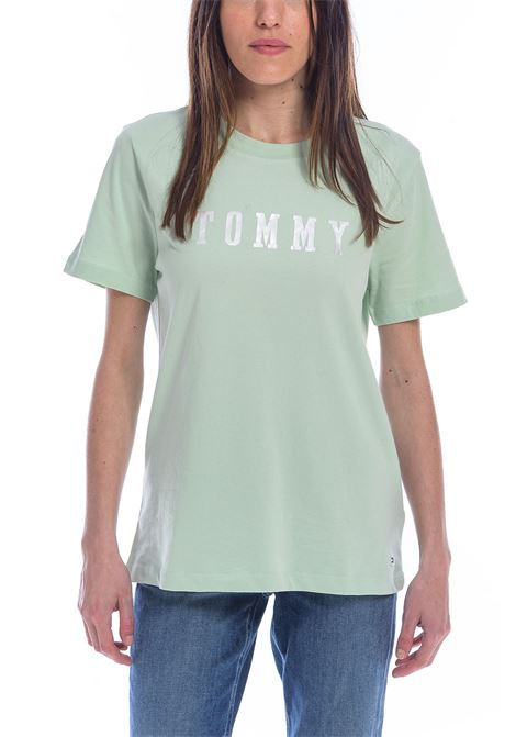 T-SHIRT TOMMY HILFIGER tommy hilfiger | 8 | WW0WW23857906