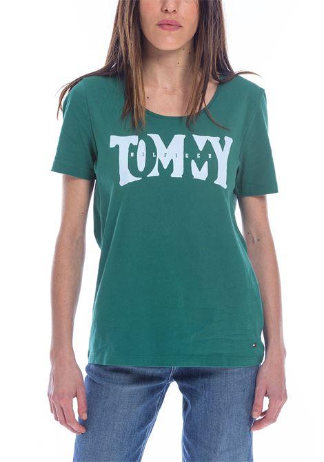 T-SHIRT TOMMY HILFIGER tommy hilfiger | 8 | WW0WW24509290