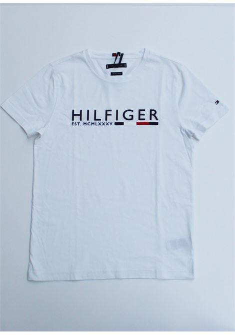 T-SHIRT TOMMY HILFIGER tommy hilfiger | 8 | MW0MW12531YBR