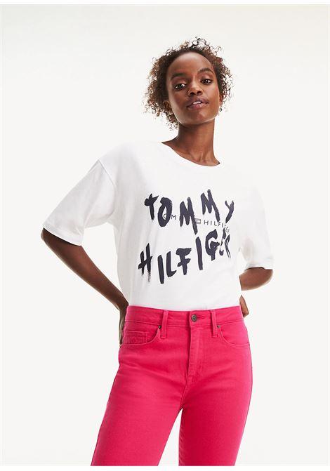 T-SHIRT TOMMY HILFIGER tommy hilfiger | 8 | WW0WW26776YBR