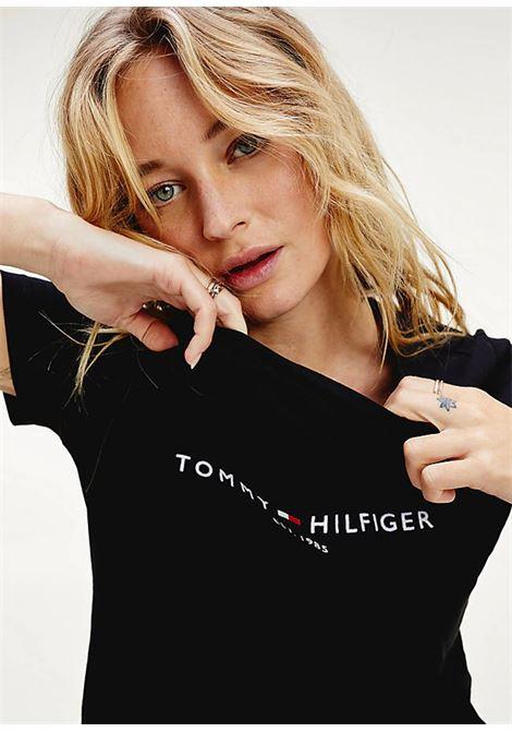 T-SHIRT TOMMY HILFIGER tommy hilfiger | 8 | WW0WW26868BDS