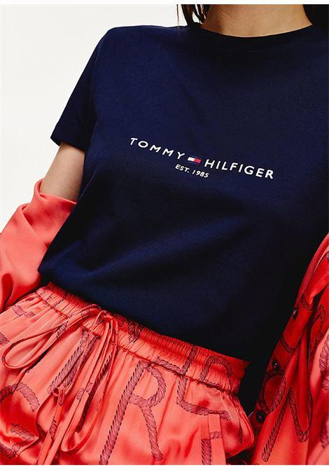 T-SHIRT TOMMY HILFIGER tommy hilfiger | 8 | WW0WW26868DW5