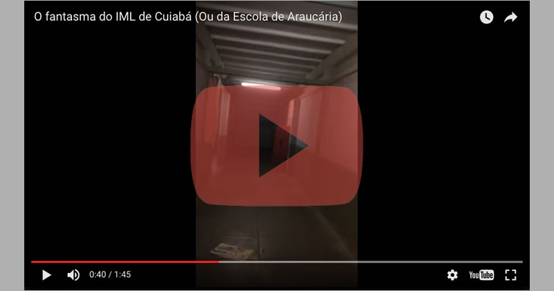 Fantasma assusta seguranças de escola no Paraná! Verdade ou Mentira?