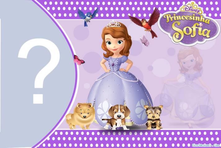 Moldura princesinha sofia - Foto princesa sofia ...