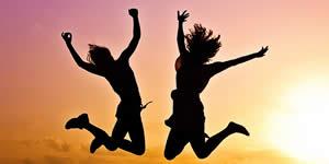 Quem são seus 3 amigos mais alegres?