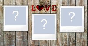 Linda moldura polaroid para três fotos, com fundo de madeira! Faça a sua...
