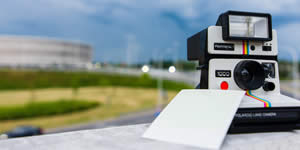 Your favorite photo taken with a polaroid! Create now!