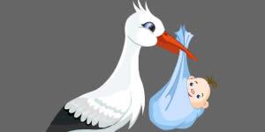 Quais amigas estão loucas para conhecer a bicada do cegonho?