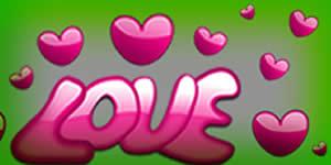 Linda Moldura de Rosinhas com Foto sua e 2 Amigos escrito LOVE. Faça Sua!