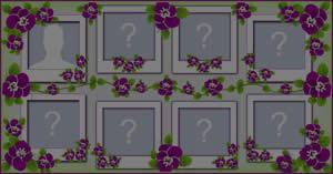 Lindo mosaico com 7 amigos especiais! Faça o seu