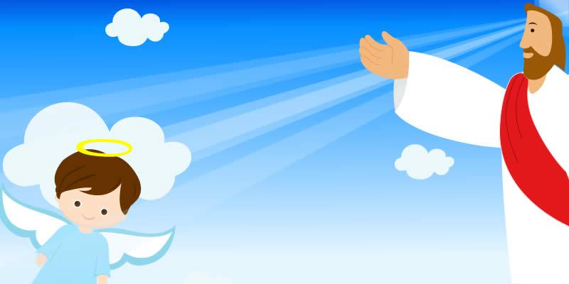 Como foi a conversa de Deus com seu anjinho da guarda?