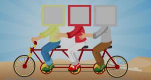 Com quem você daria um rolé de bike?