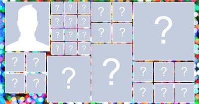Mosaico con 29 amici! Crea il tuo!