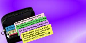 Qual seu Versículo Bíblico da caixinha da promessa?