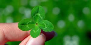 Quais as 3 coisas que fazem de você uma pessoa de sorte?