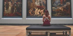 Quais fotos suas serão expostas em um museu como obras de arte?