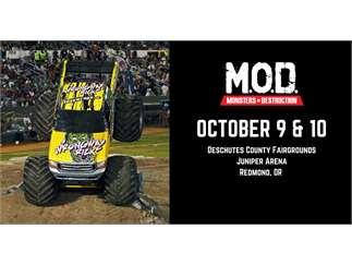 Monsters Of Destruction Deshutes County Fairgrounds Juniper Rodeo Arena Redmond Events At Ktvz Com