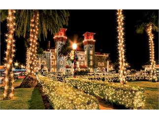 nights of lights plaza de la constitucion st augustine events at rh events firstcoastnews com