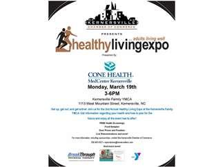 Healthy Living Expo   Kernersville Family YMCA   Winston