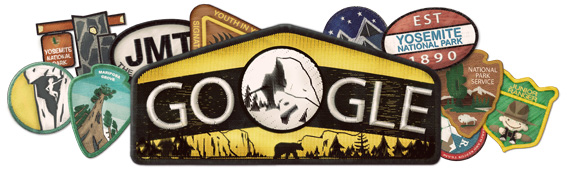 Yosemite National Park Google Doodle