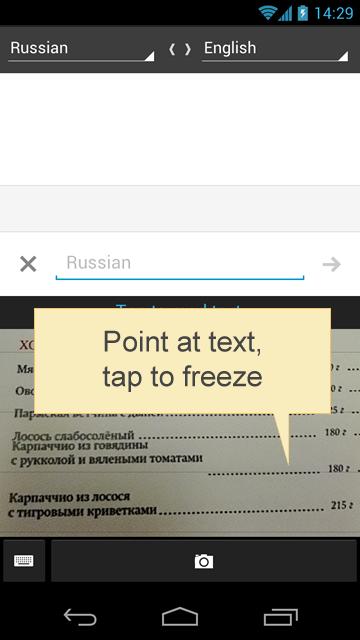 Google Translate Picture