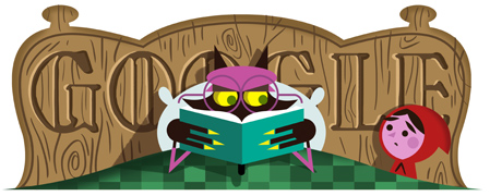 Brothers Grimm Google Logo