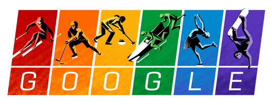 Google Sochi Olympics Logo For Olympic Charter