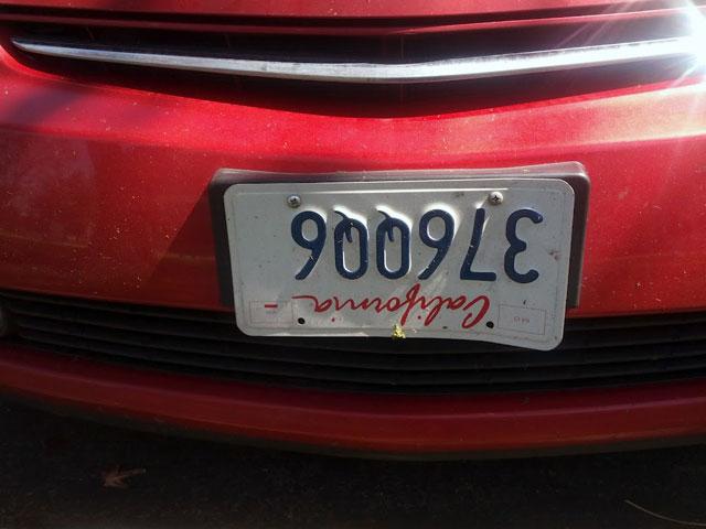 376QQ6 License Plate
