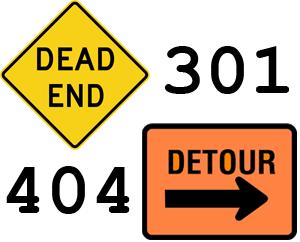 404 or 301